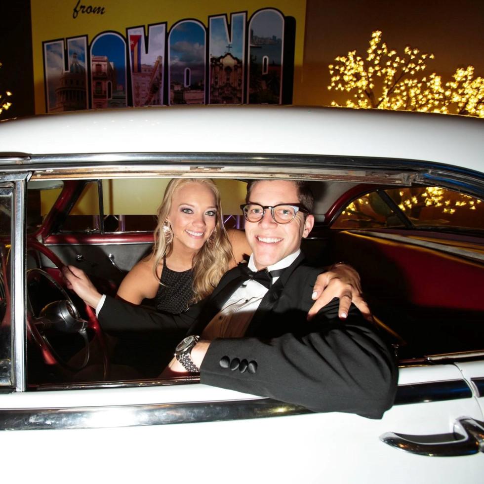Brooke Bonner and Conner Best, Slipper Club Havana Nights 2018