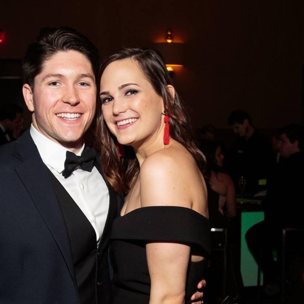 Grahm Lingor and Shannon Graham, Slipper Club Havana Nights 2018