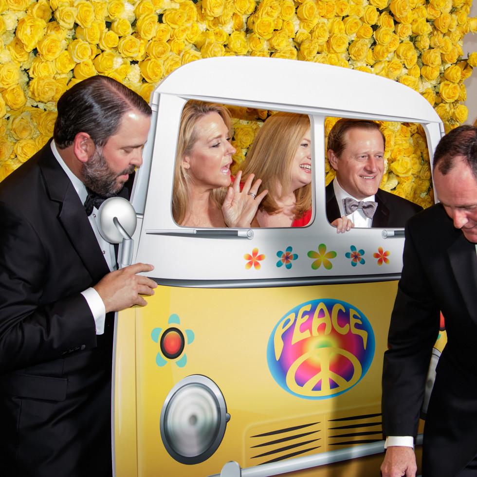 Photo booth at Yellow Rose Gala 2018