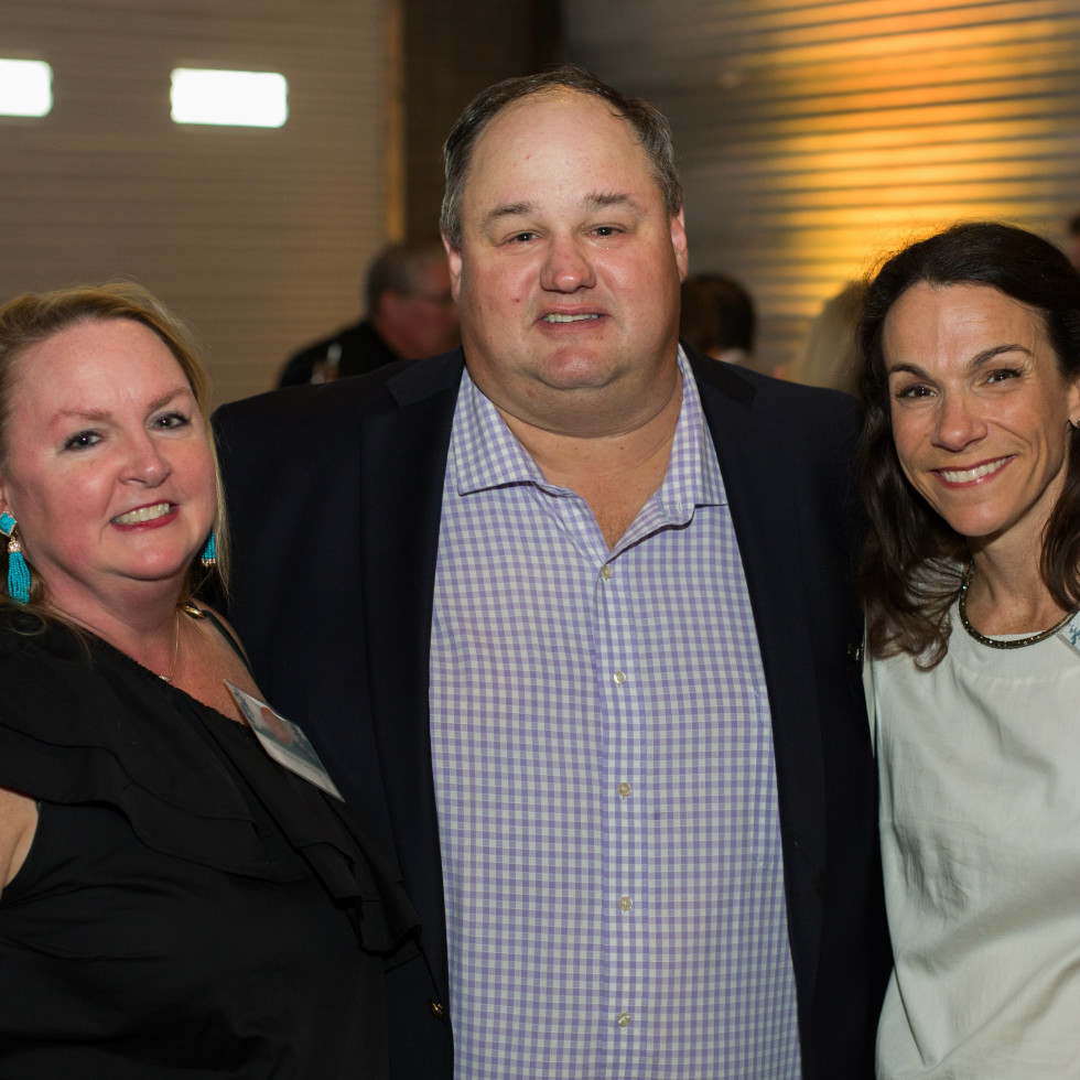 Christine and Simms Browning with Lynn Jordan