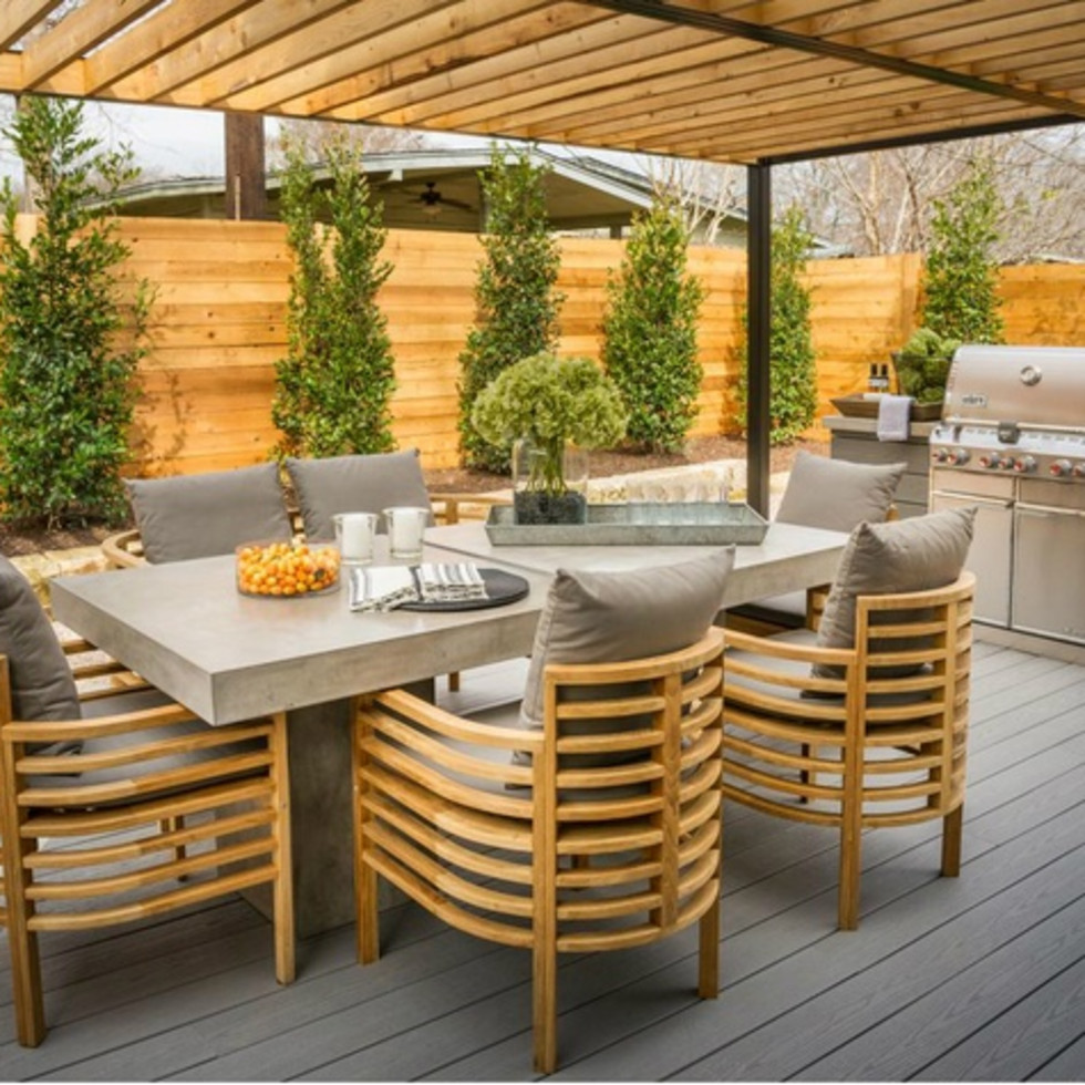 Backyard Deck of HGTV 2015 Smart Home