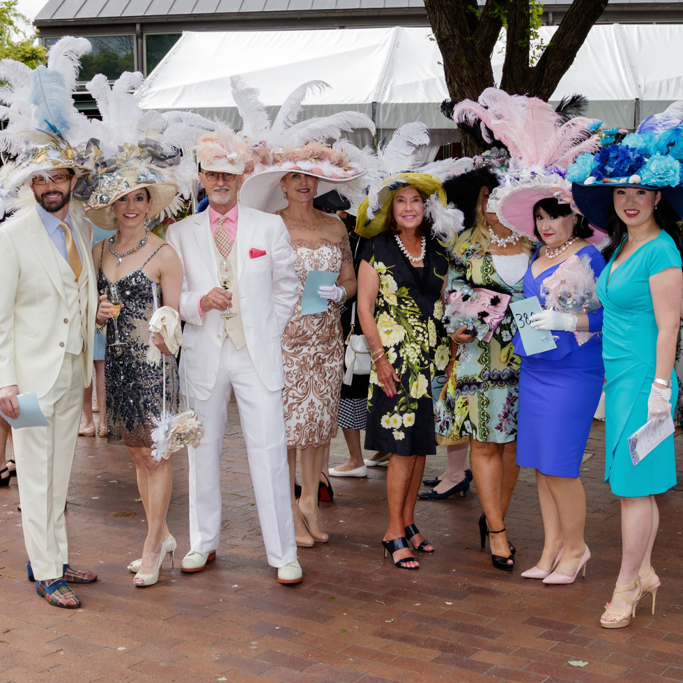 Mad Hatters 2018, winning group hat