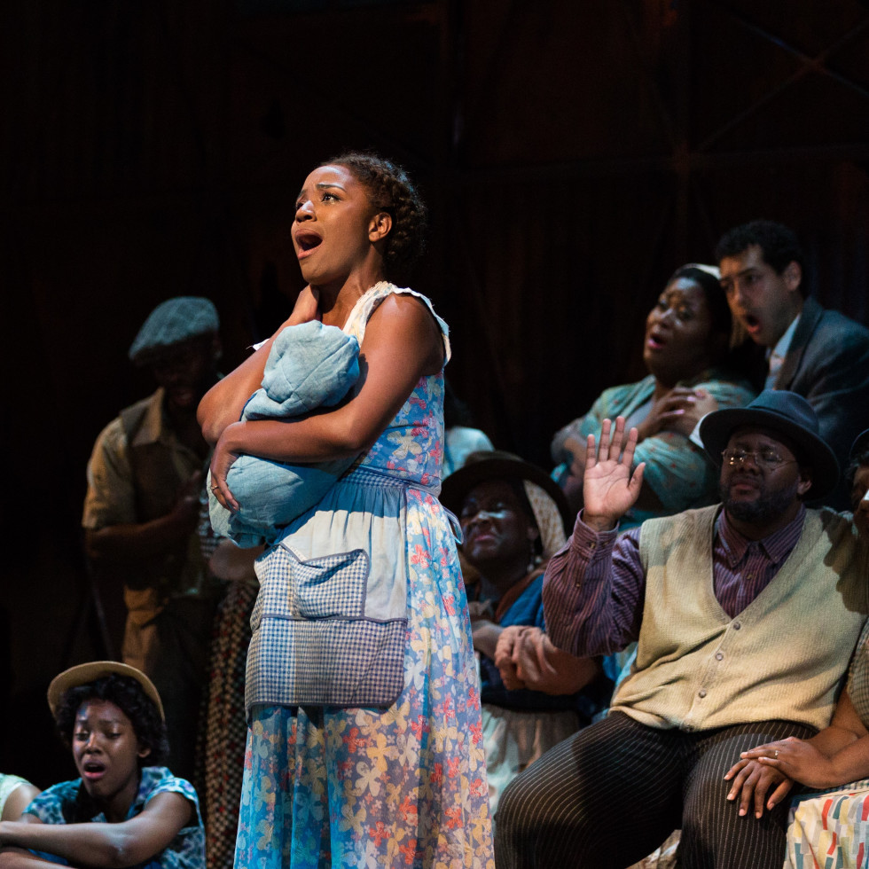 Meroë Khalia Adeeb as Clara Porgy and Bess, Fort Worth Opera