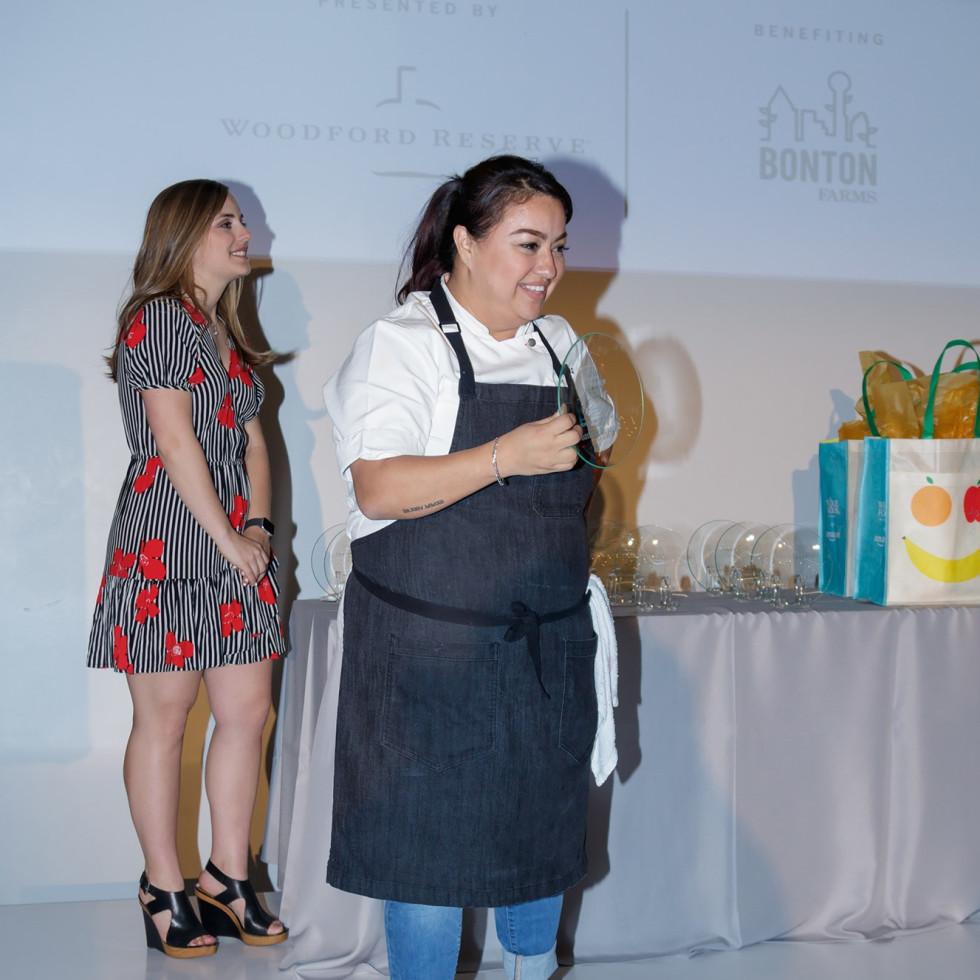 Dallas Tastemaker Awards 2018, Anastacia Quinones, Rising Star Chef