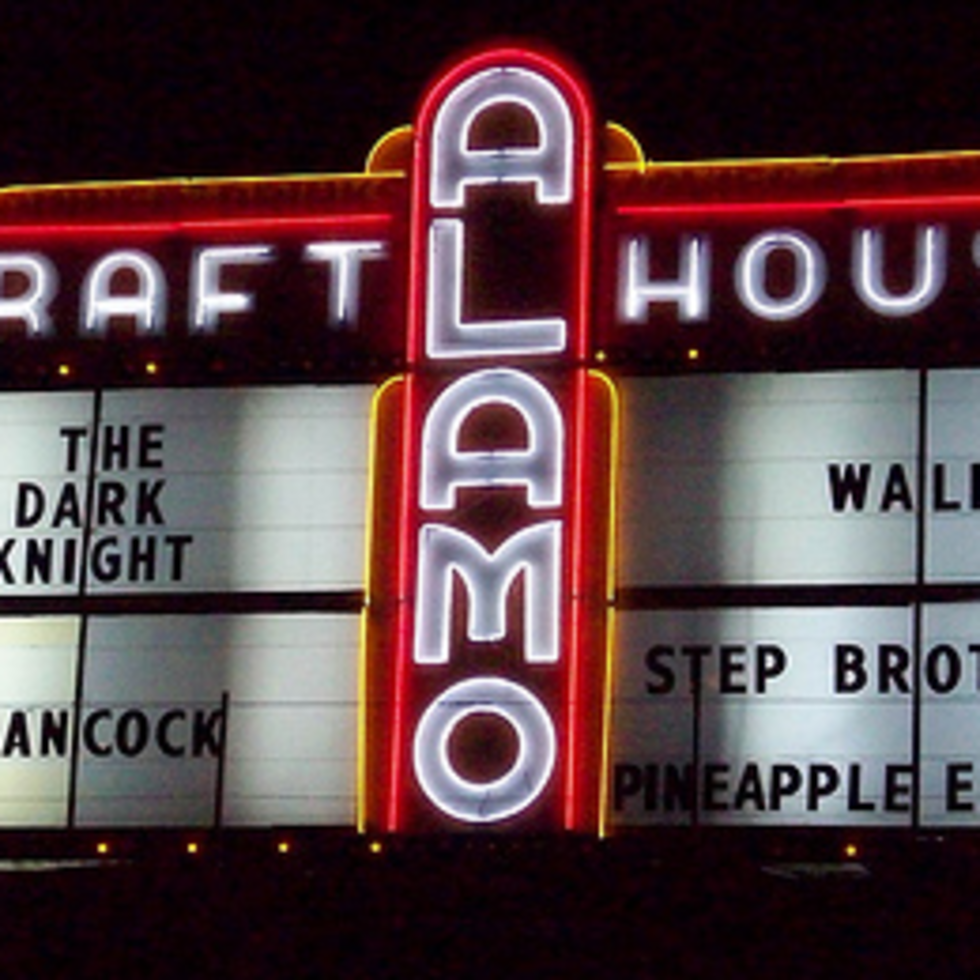 Austin Photo: Places_Entertainment_Alamo_Drafthouse_Village_Sign