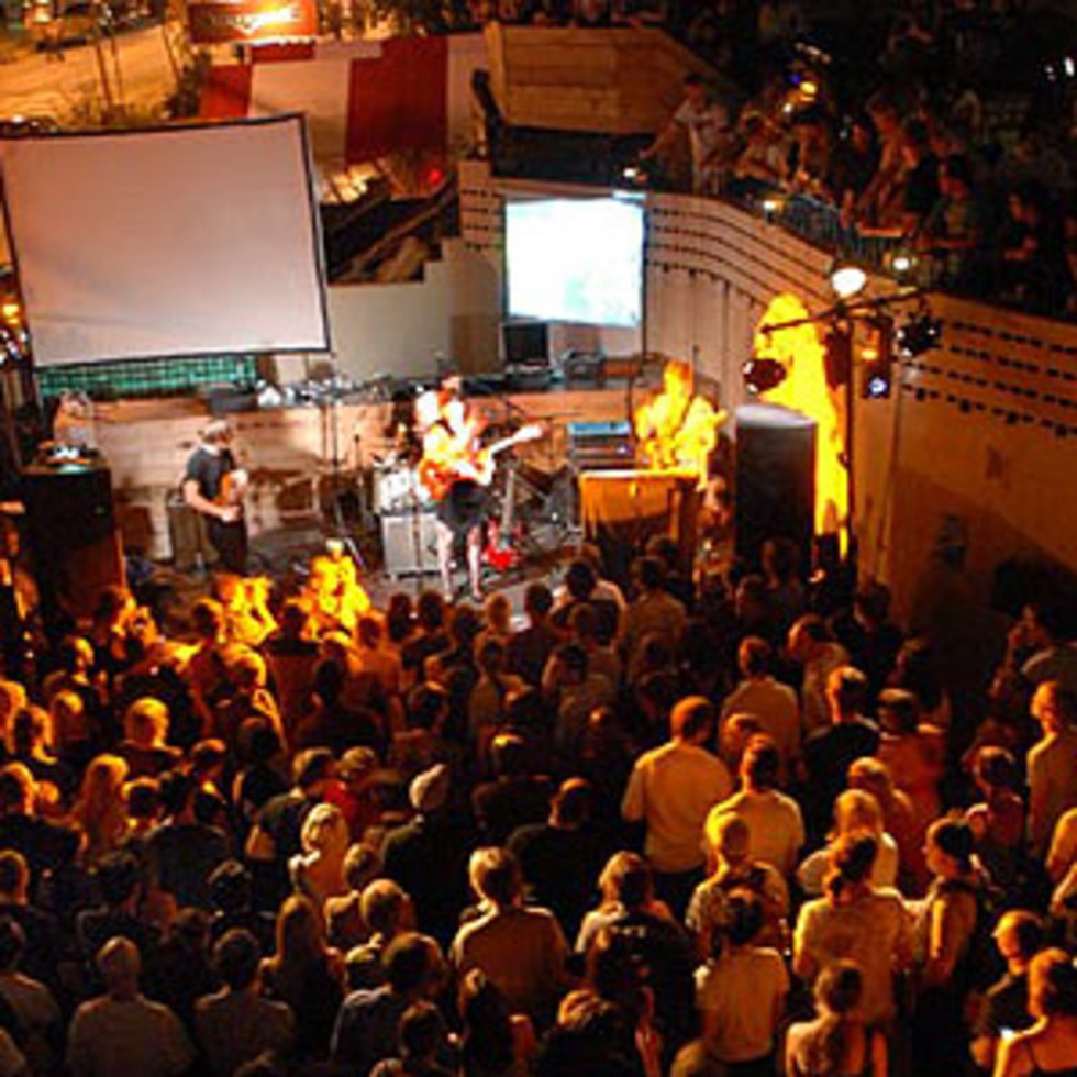 Austin Photo: Places_Live Music_Mohawk_Stage