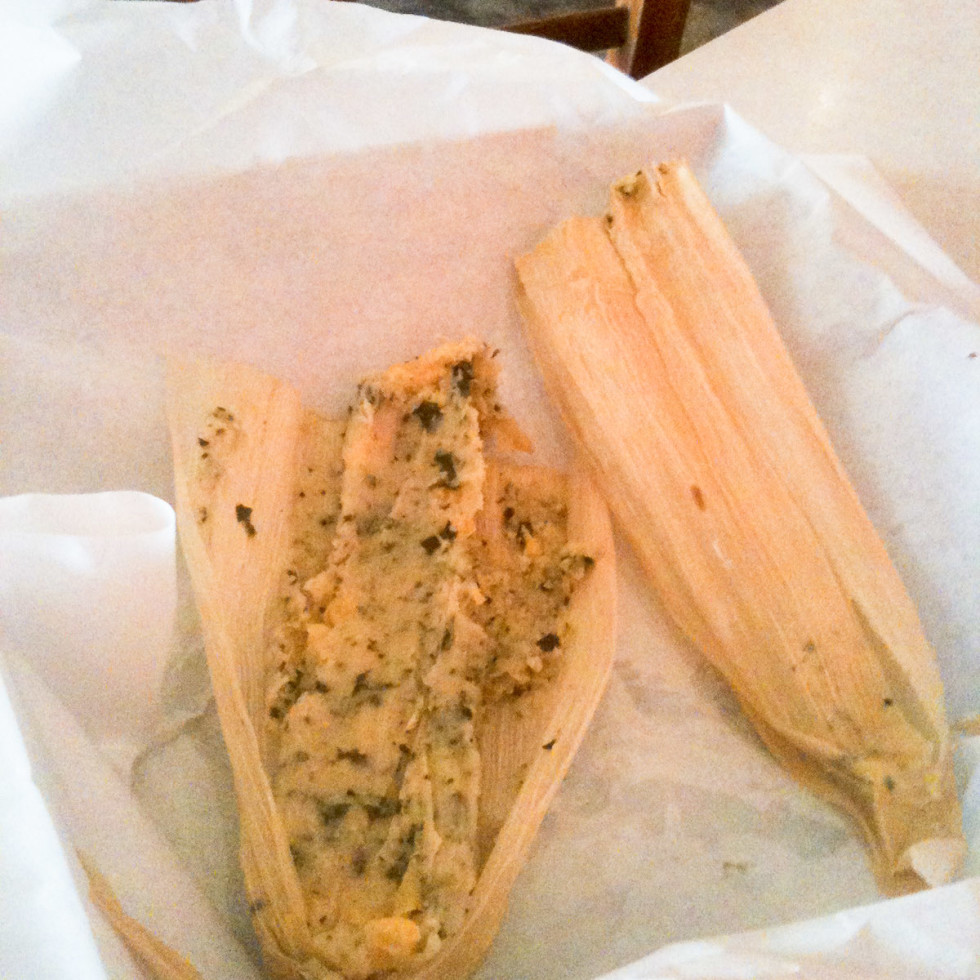 News_Heights Ashbury_spinach corn tamale