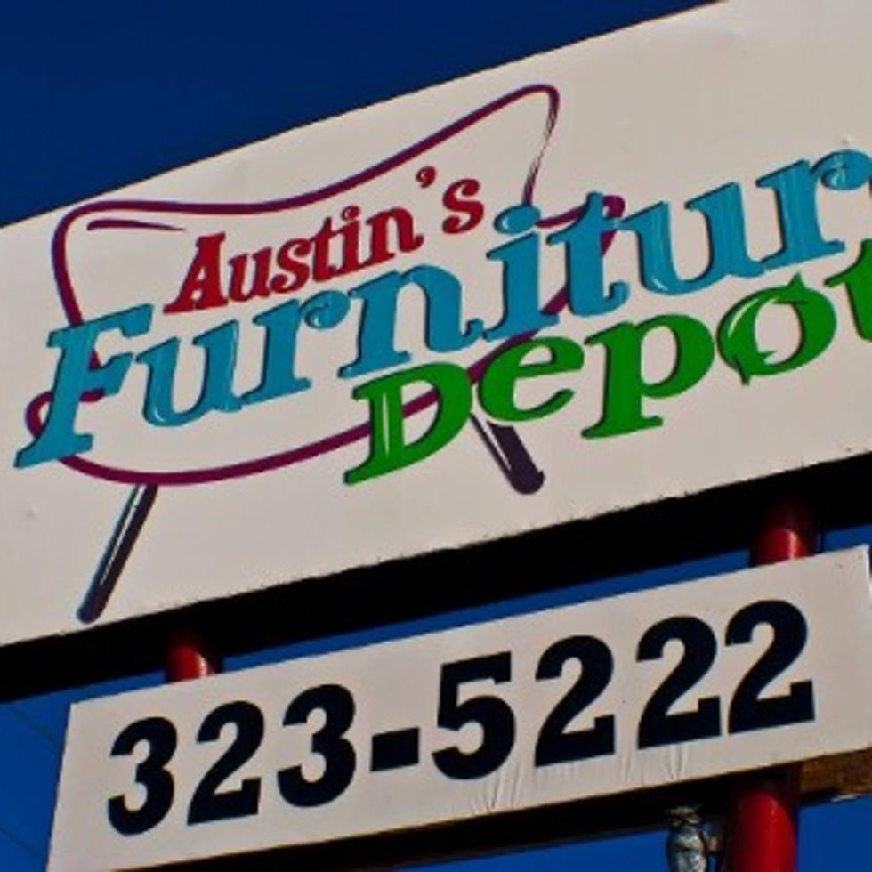 Austin Photo: Places_shopping_austin's_furniture_depot_sign