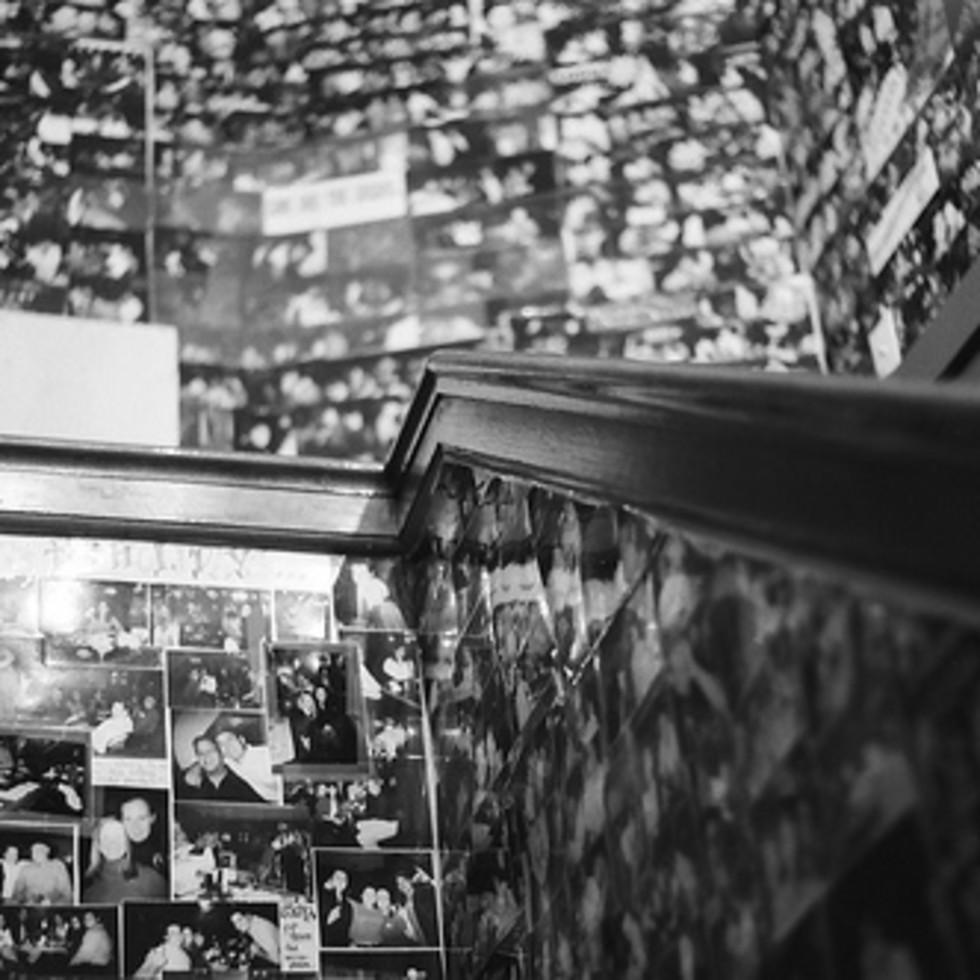 Austin Photo: Places_Bar_cloak_stairs