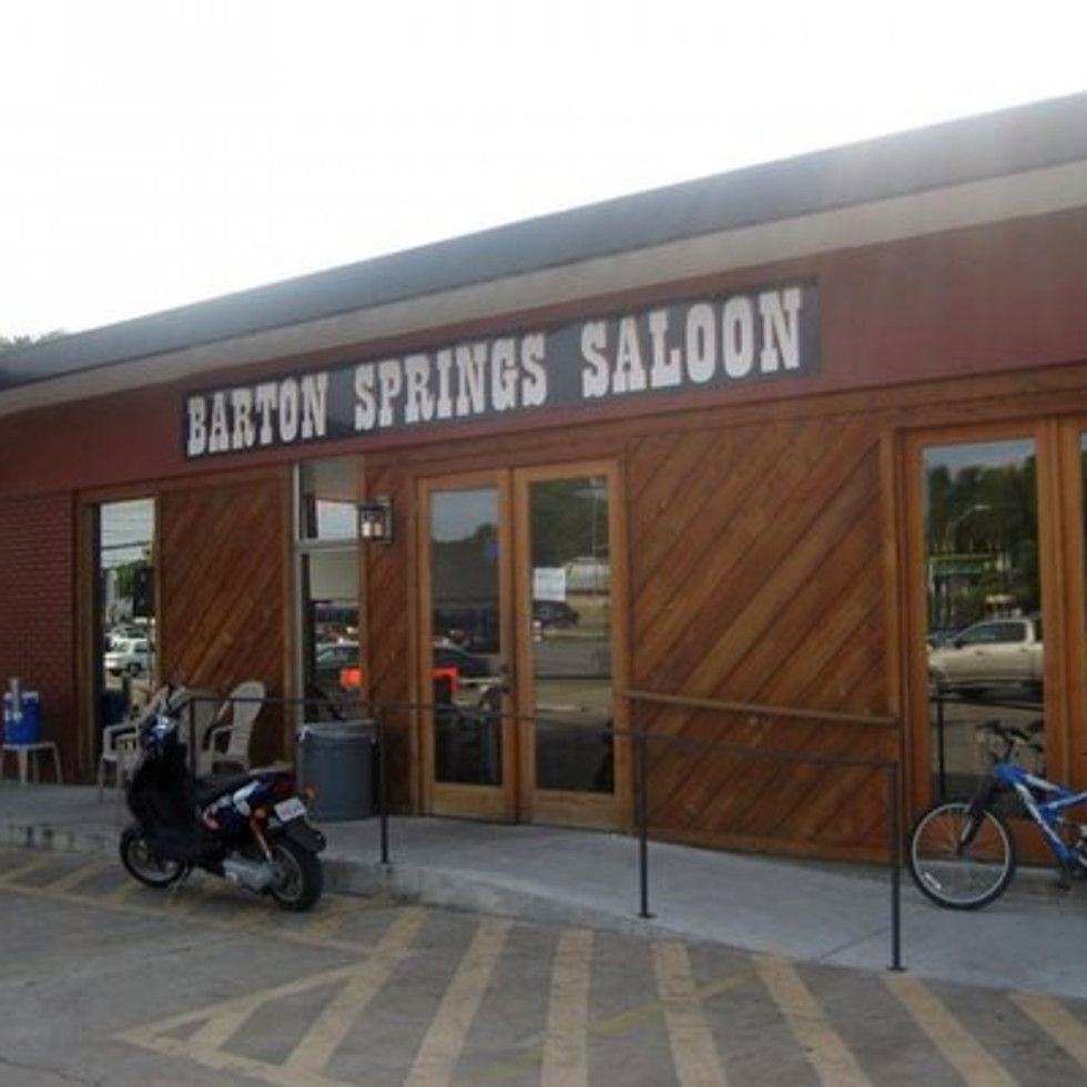 Austin_photo: places_drinks_barton springs saloon_outside