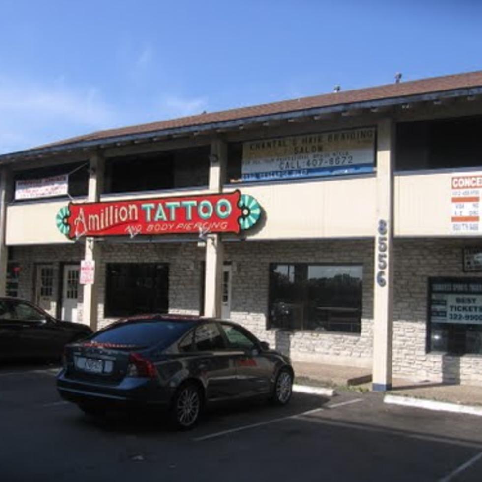 Austin_photo: places_shopping_amillion tattoo_exterior