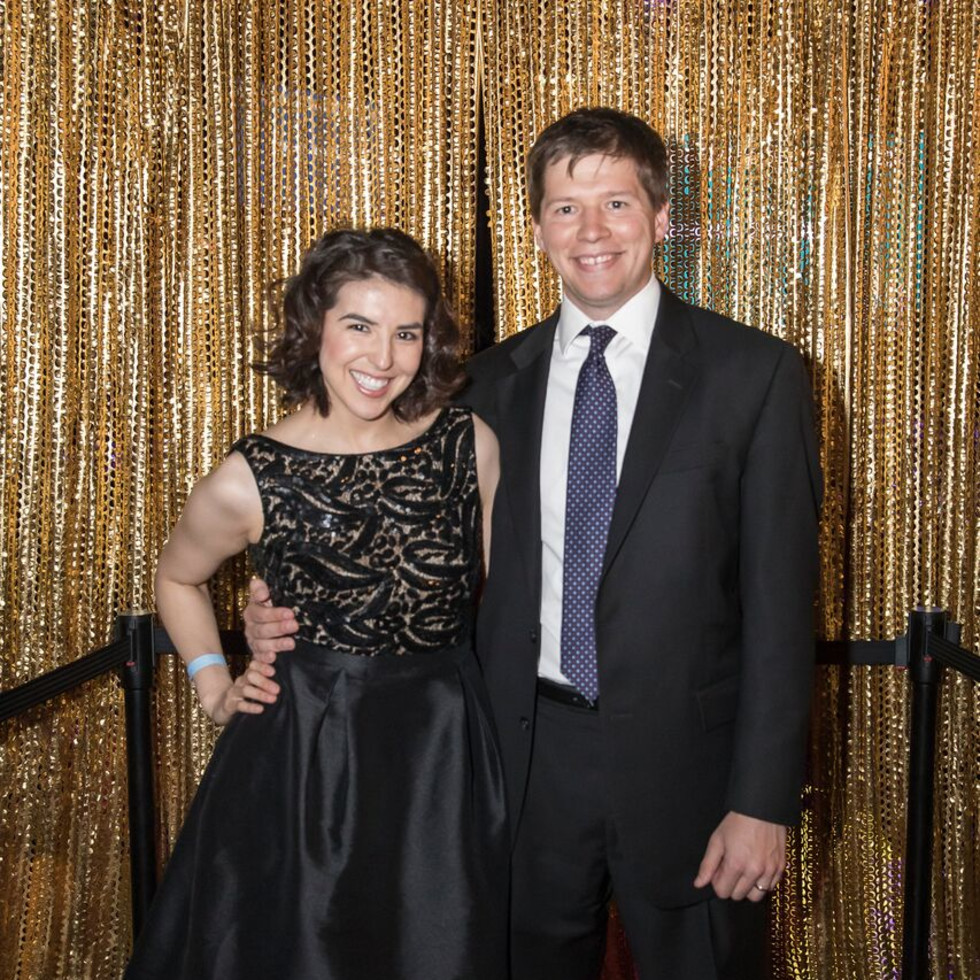 Equest After Dark Gala 2018, Missy and JB Cook