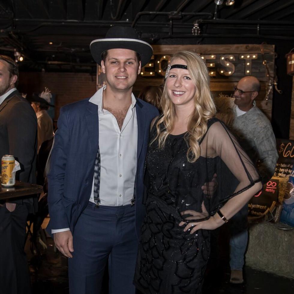 Equest After Dark Gala 2018, Peter Aldendifer, Elizabeth Blackwell