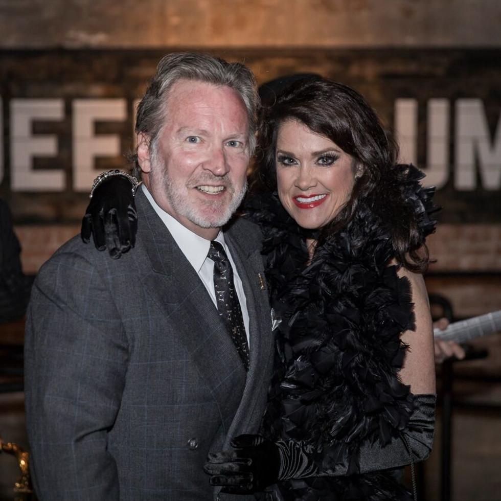 Equest After Dark Gala 2018, Jon and Susan Farrier