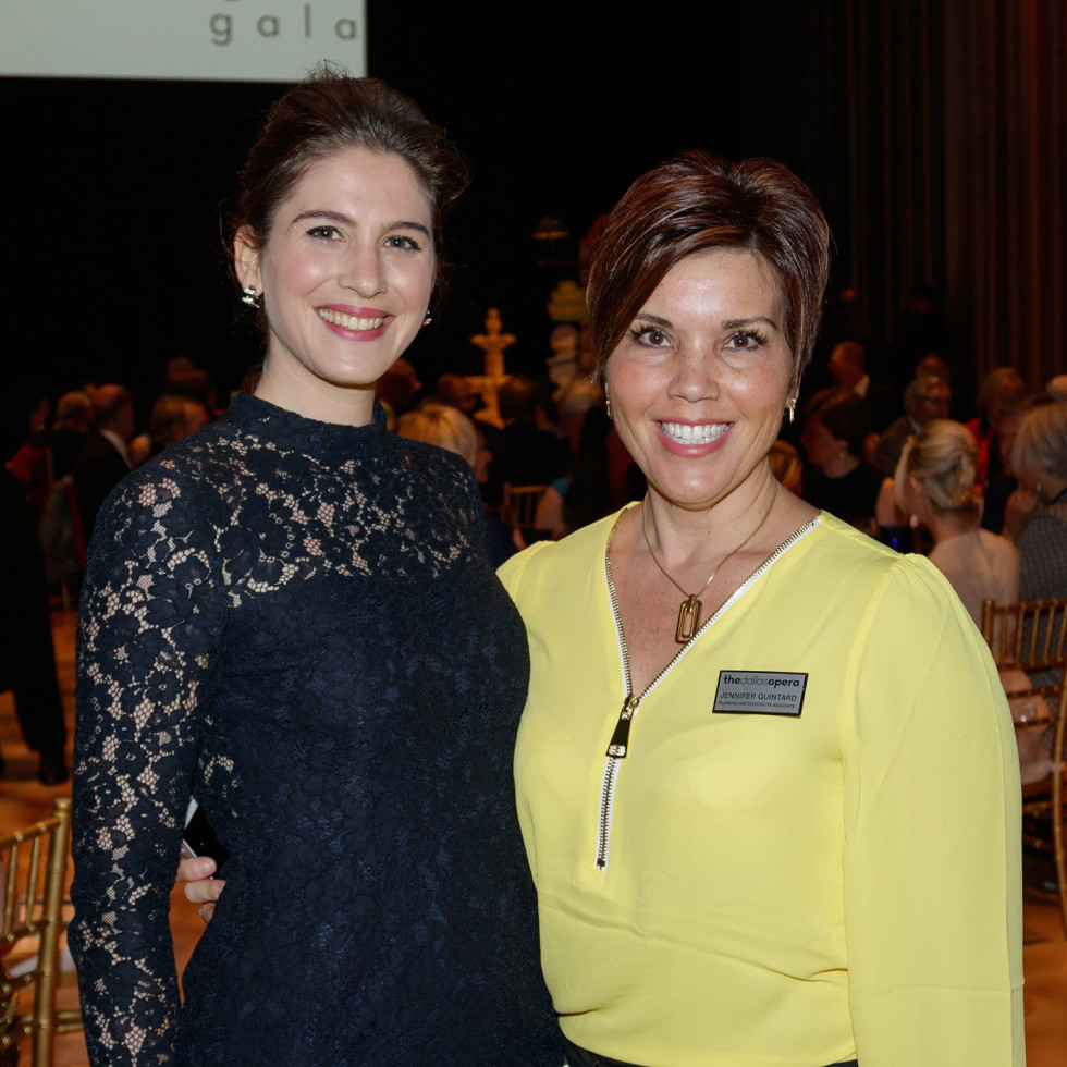 Dallas Opera Springs Gala 2018, Virginie Verrez, Jennifer Quintard