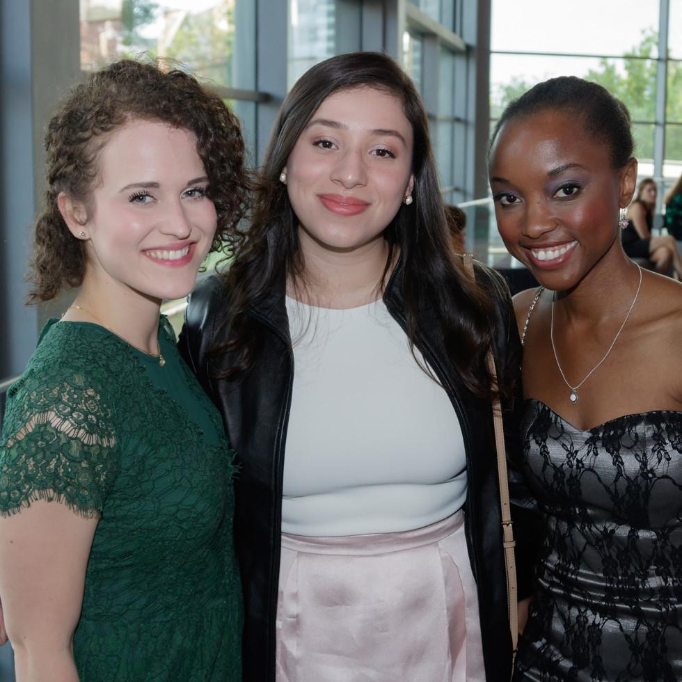 Dallas Opera Springs Gala 2018, Claire Dillahunty, Karina Buruca, Elizabeth Henderson