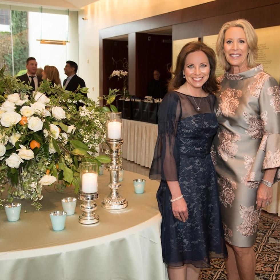 Ronald McDonald House gala, Christine Cook and Cecilie Holman