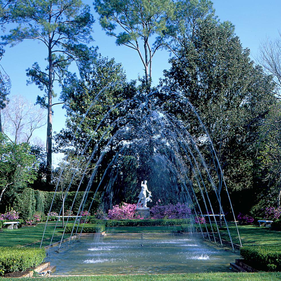 Map-A&E-Bayou Bend-Diana Garden-day shot