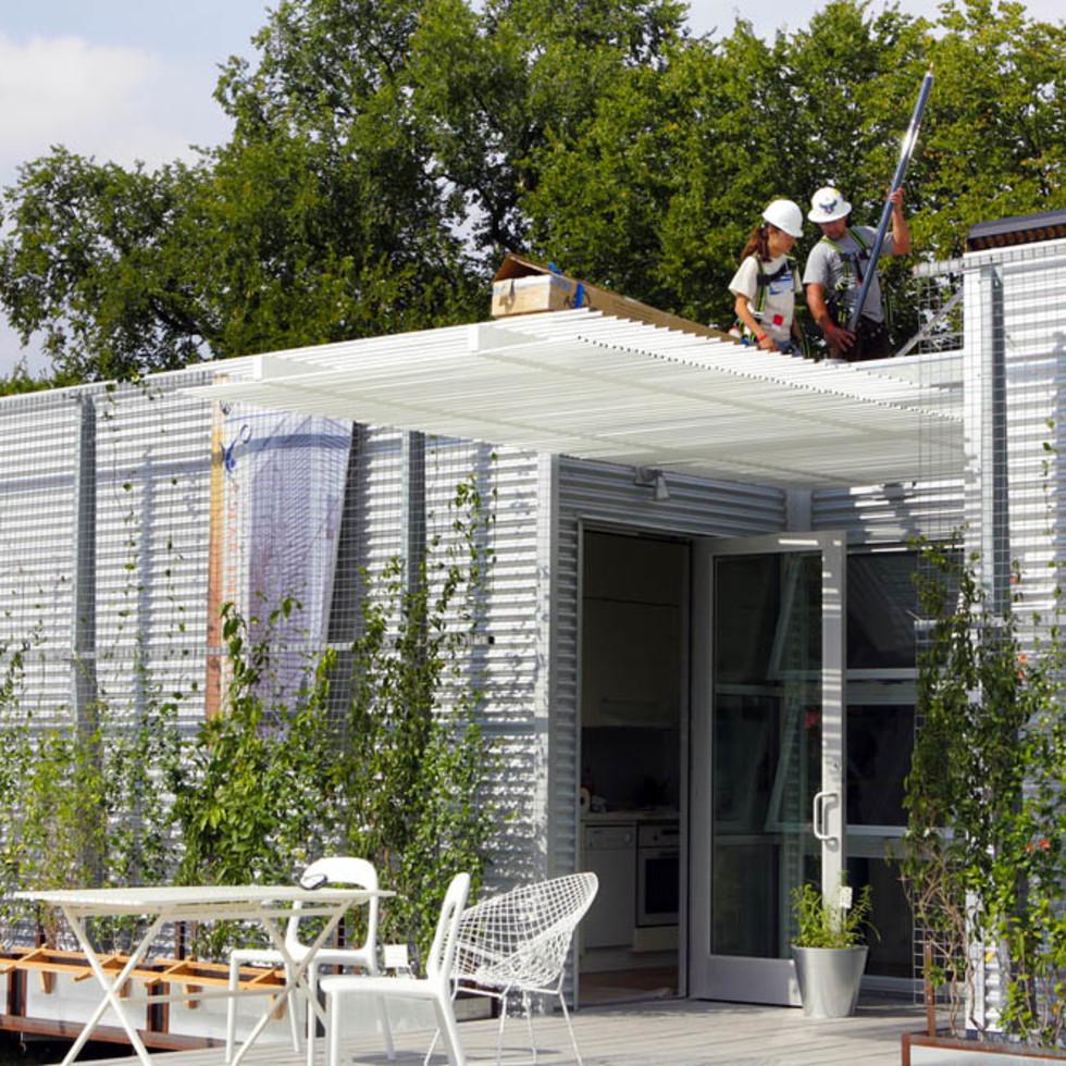 Rice Solar Decathlon, ZEROW house