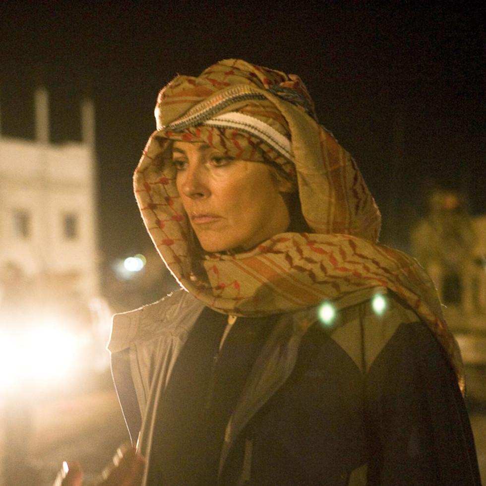 News_Houston Film Critics' Awards 2009_Kathryn Bigelow_on set_The Hurt Locker
