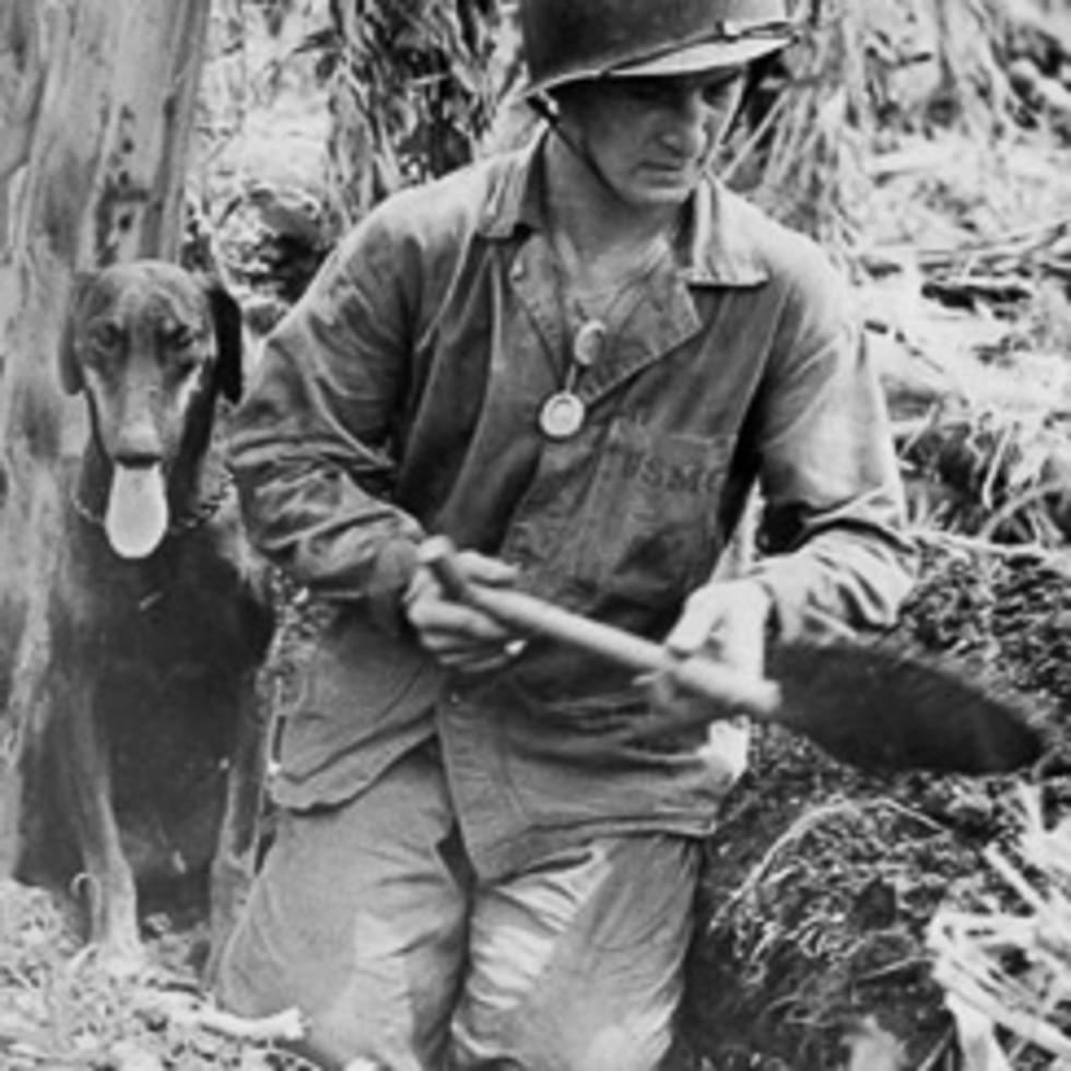 News_Joe Leydon_War Dogs of the Pacific_dog handler_Edmund Adamski_Big Boy