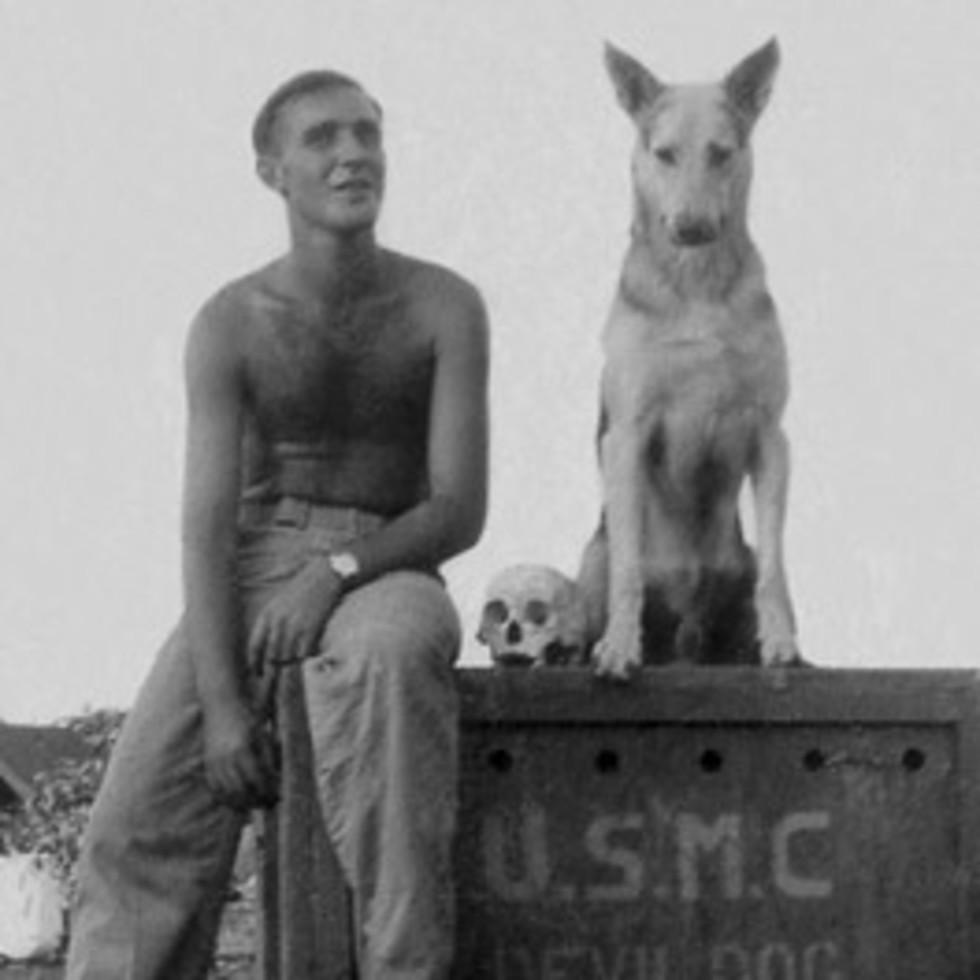 News_Joe Leydon_War Dogs of the Pacific_dog handler_Thurman Clark_Duke