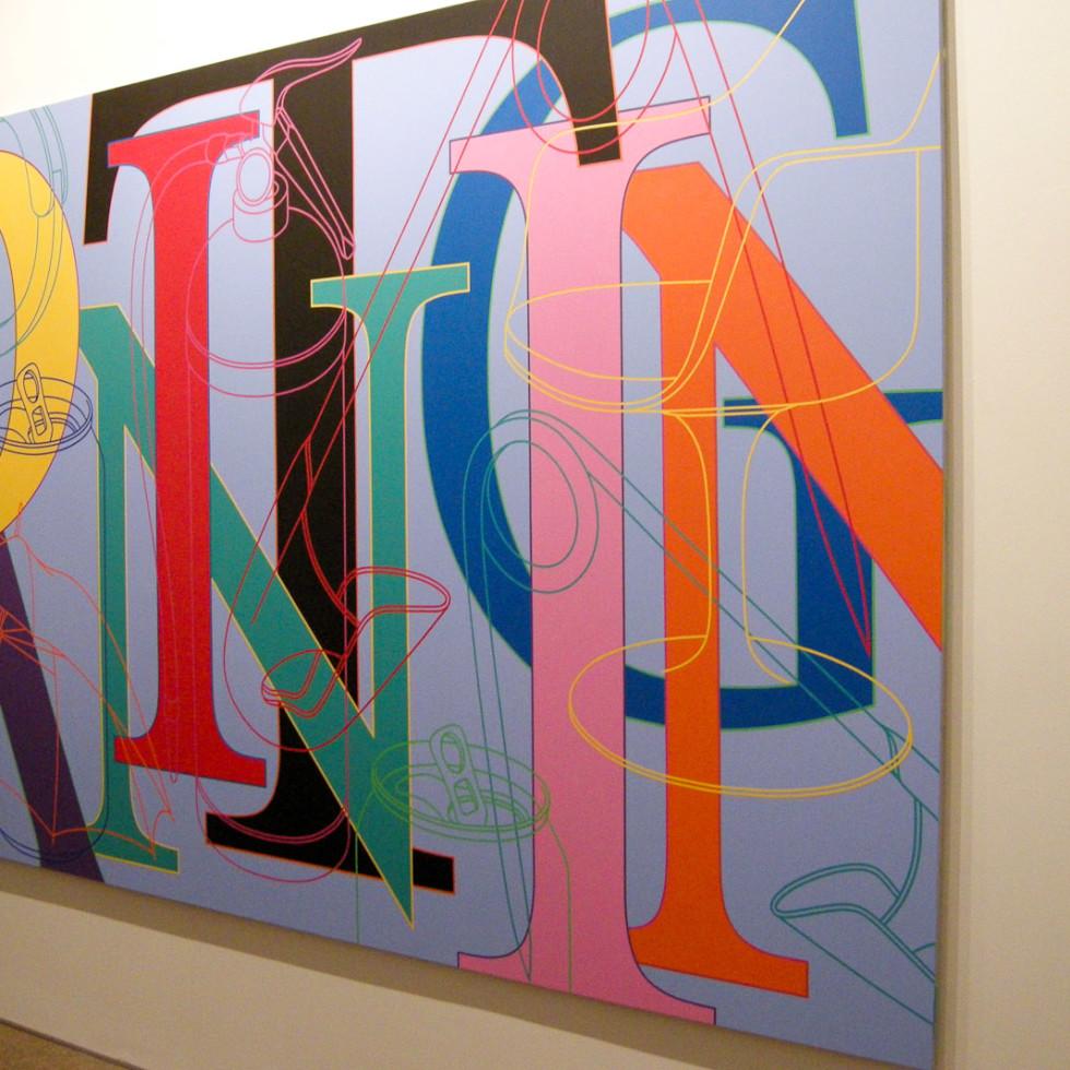 News_Dallas Art Fair_Steven Thomson_Painting_by Michael Craig-Martin
