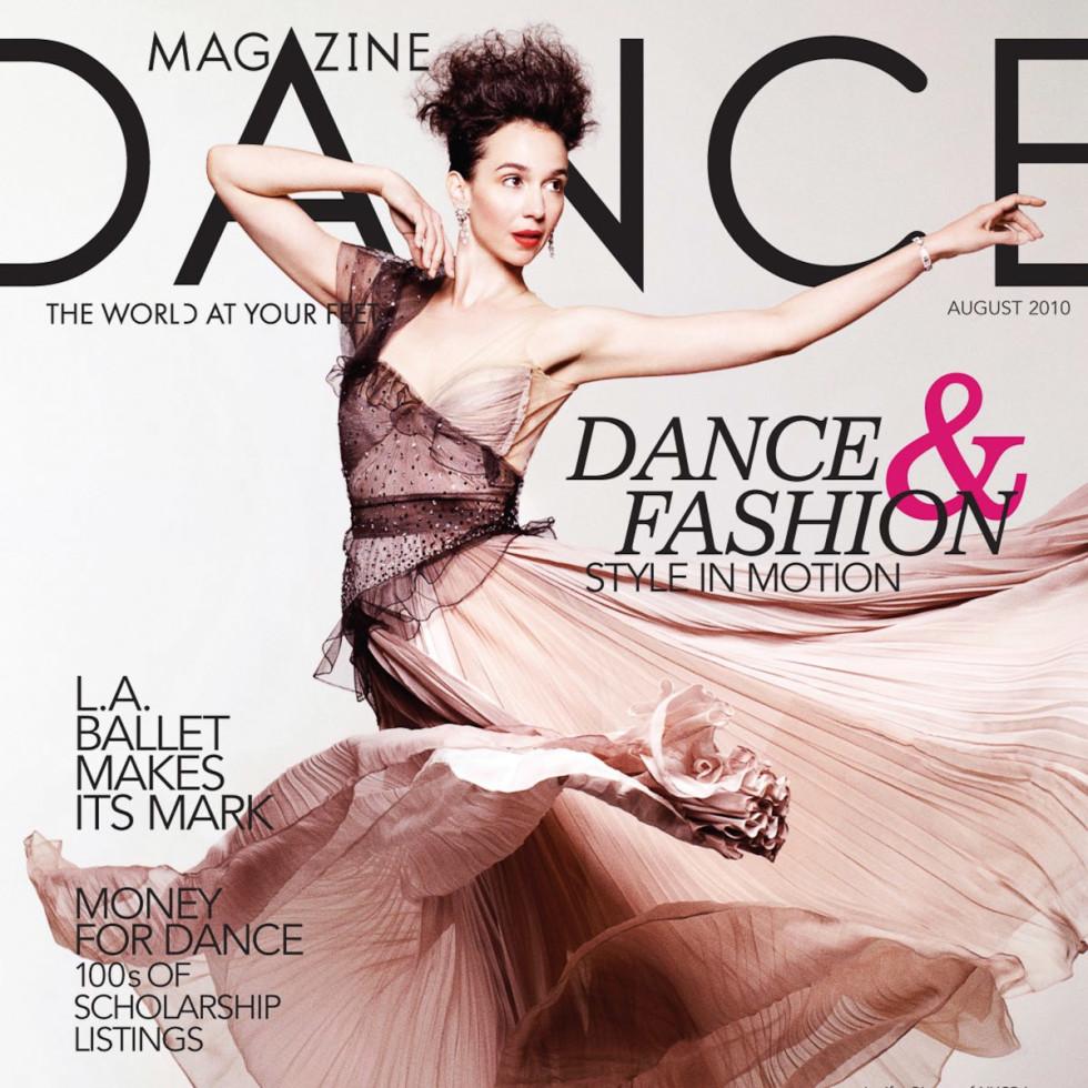 News_Nancy Wozny_fashion_dance_magazine cover
