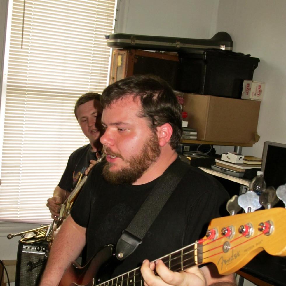 Marshall Graves on Bass Guitar