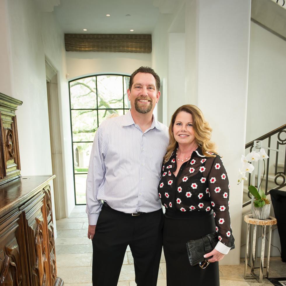 Bob Woods and Cynthia Hayes, United Way fundraiser