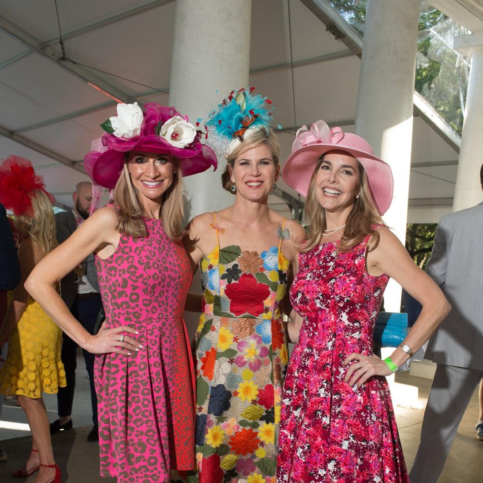 Day at the Races 2018, Maggie Kipp, Teffy Jacobs and Amanda Ward