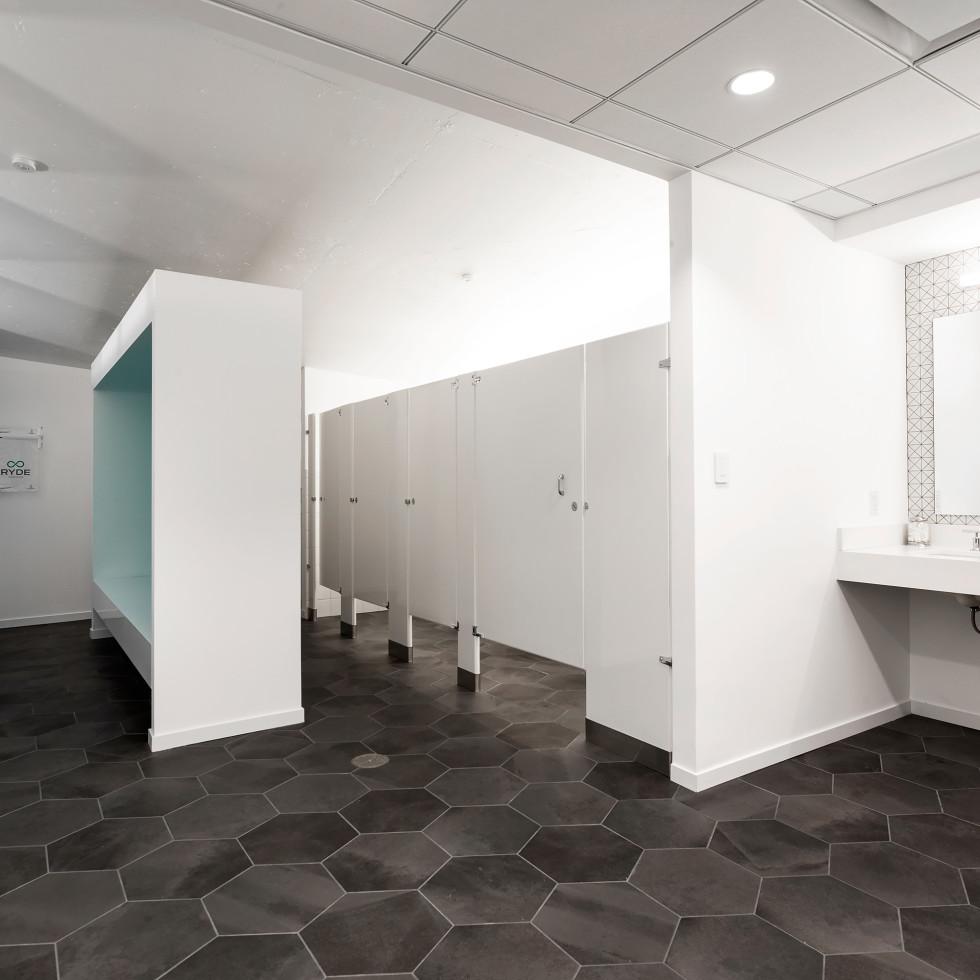 RYDE downtown bathroom