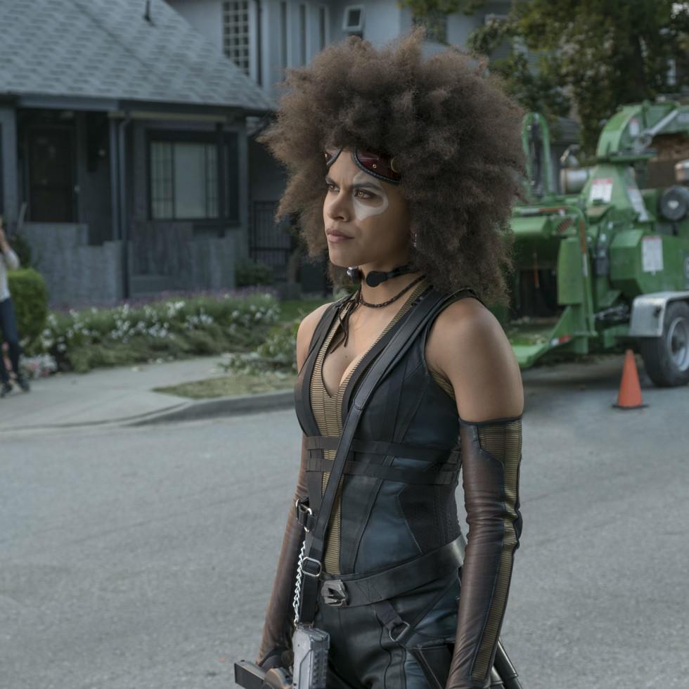 Zazie Beetz in Deadpool 2