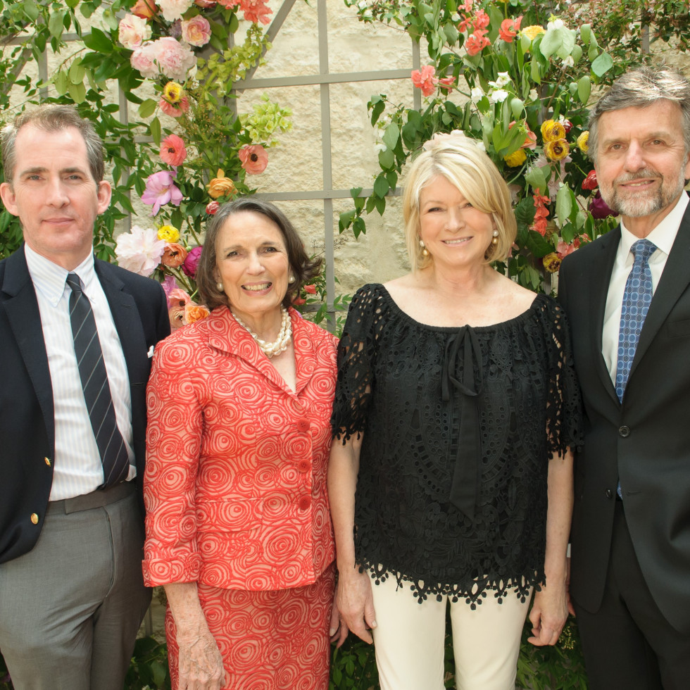 Kevin Sharkey, Kaki Hopkins, Martha Stewart, Mark Wolf