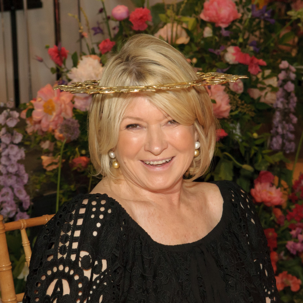 Martha Stewart at Dallas Arboretum 2018