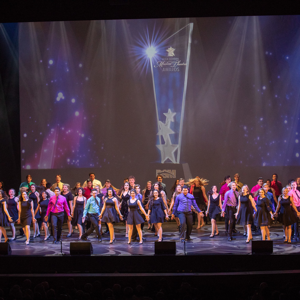 DSM High School Musical Theatre Awards show opening number