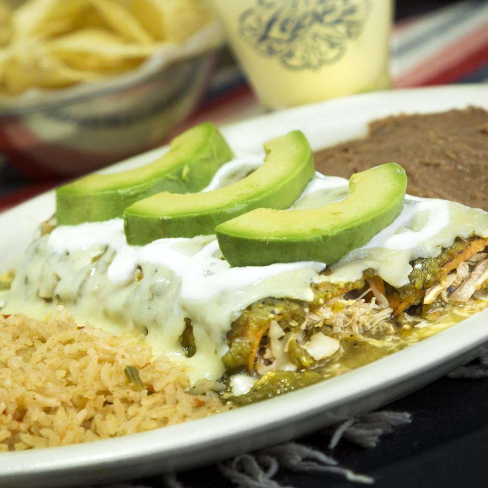 Lopez Mexican Restaurant Richmond enchiladas verdes