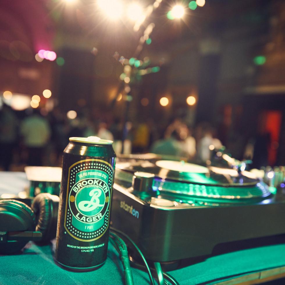 Beer Mansion DJ station