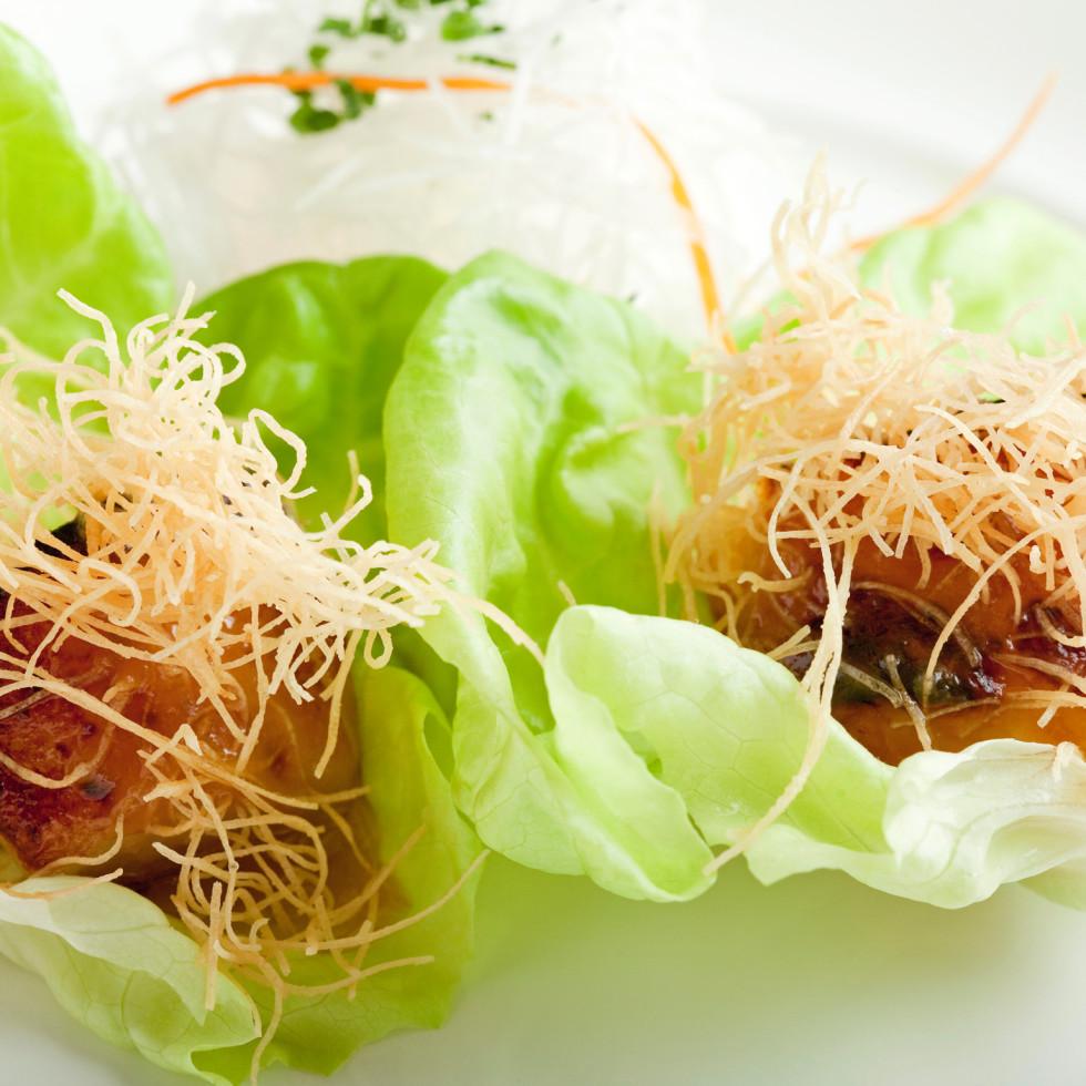 Nobu Houston Black Cod butter lettuce