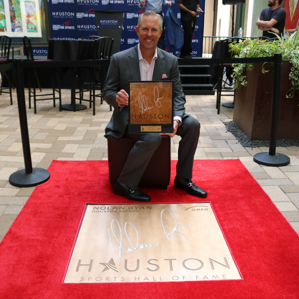 Houston Sports Hall of Fame rings Reid Ryan Nolan Ryan
