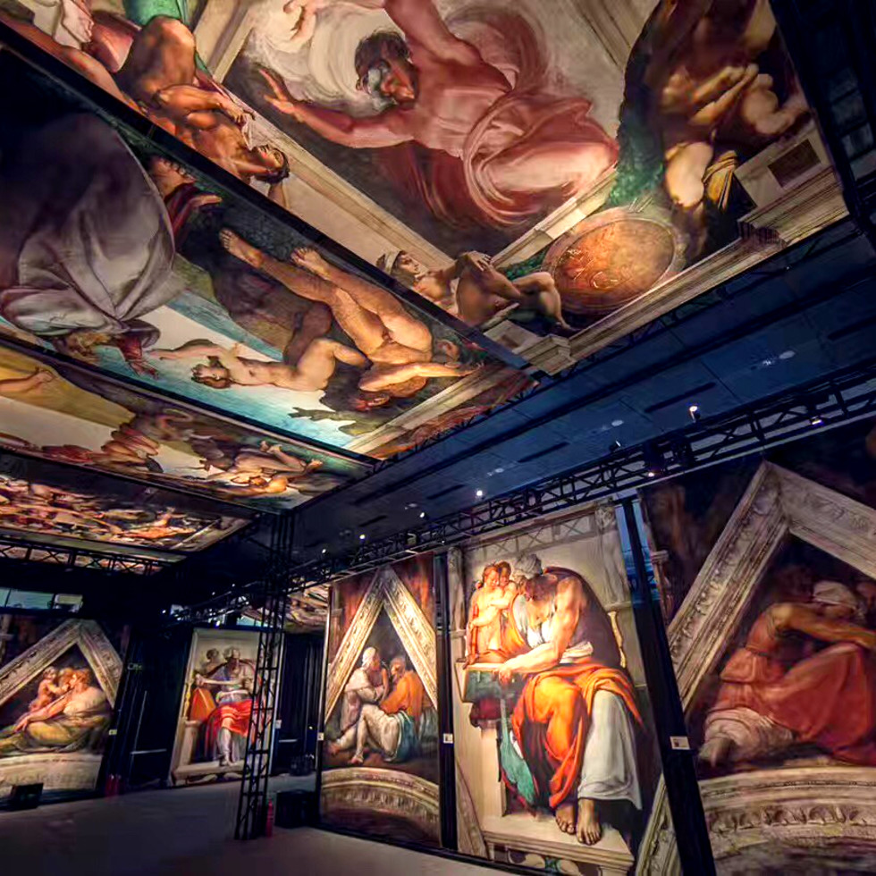 Houston Sistine Chapel exhibition