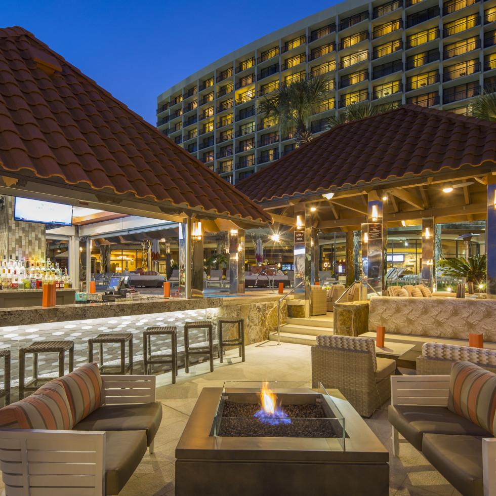 San Luis Resort patio