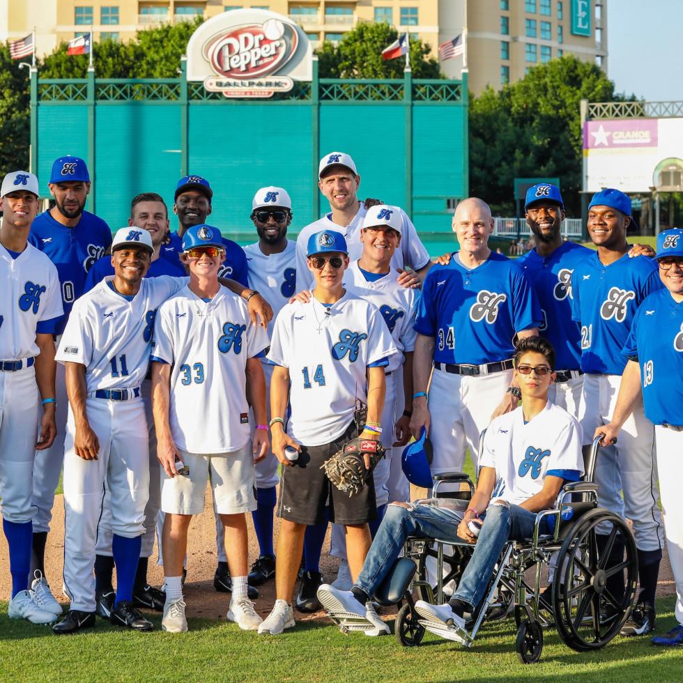 Dirk Nowitzki Celebrity Heroes Baseball Game 2018