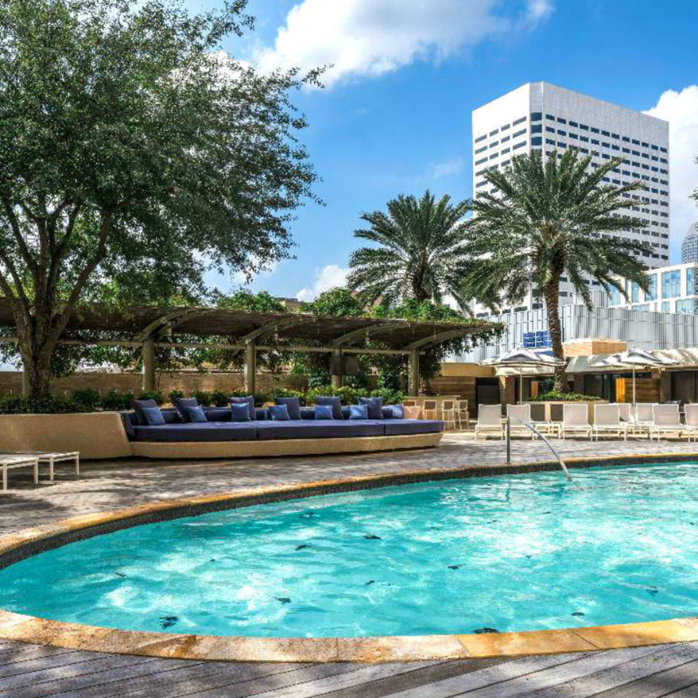 Houston hotel pools Four Seasons