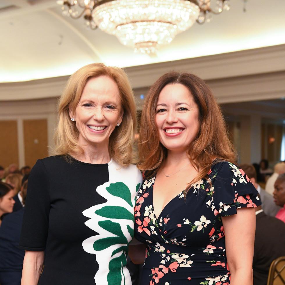 Mayor's Literacy Breakfast Susan Sarofim and Nory Angel