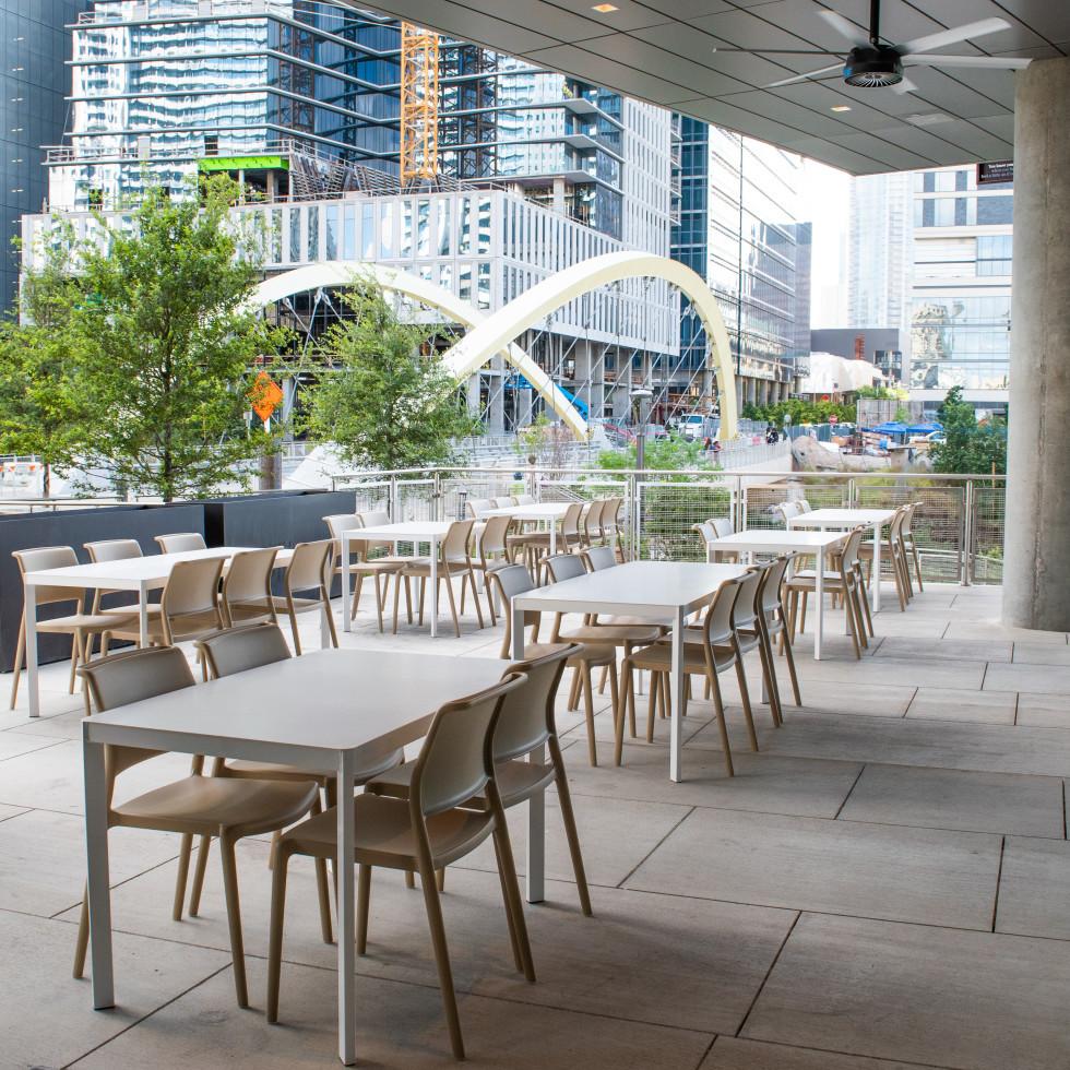 Austin Cookbook Cafe patio