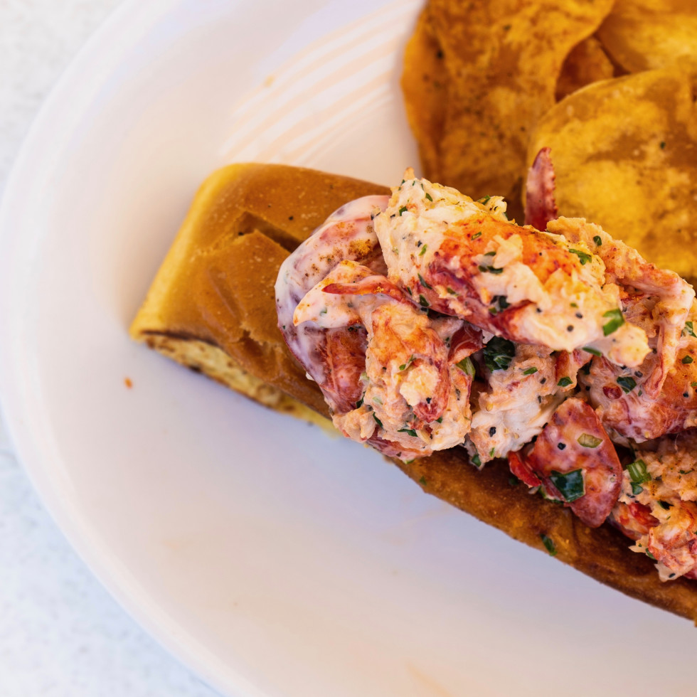 East Hampton Sandwich Co lobster roll