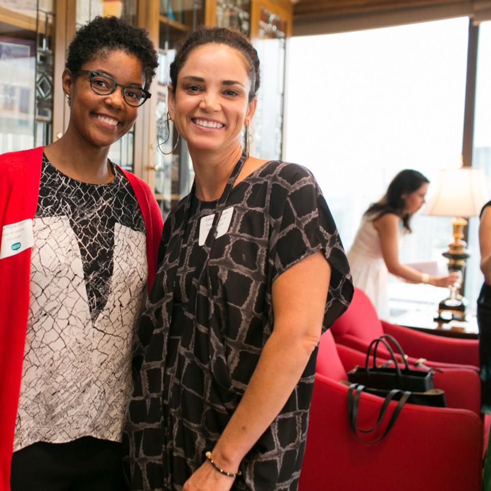 Maya Payne Smart and Celeste Quesada