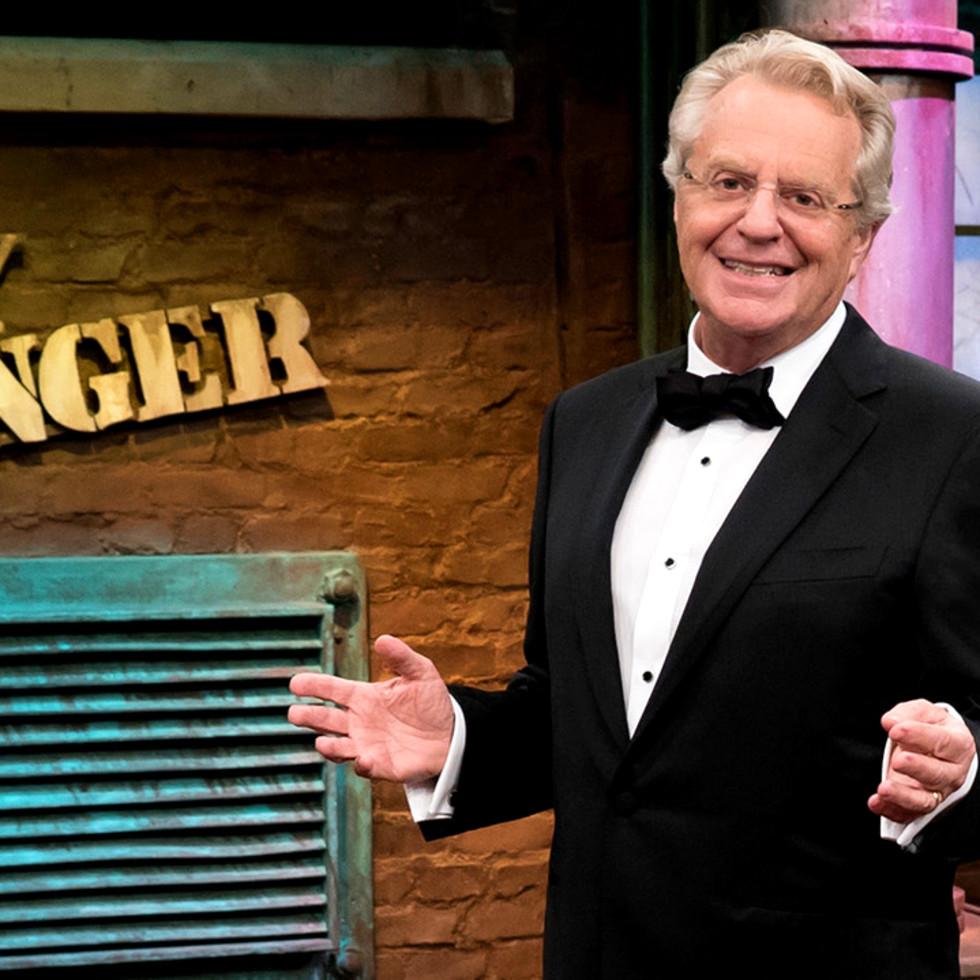 Ken Hoffman Jerry Springer farewell tuxedo
