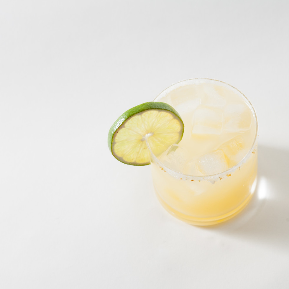 Ghost Margarita cocktail
